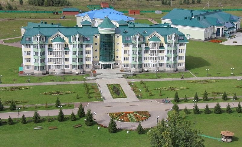 Санаторий Танып в Башкирии