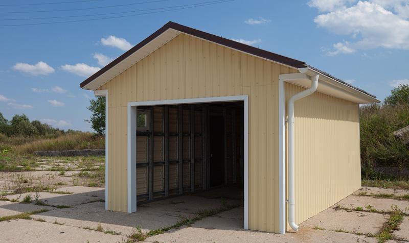 Строим гаражи в Купино в кредит