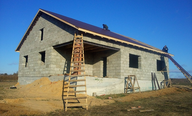 Строим дом в Евпатории в кредит